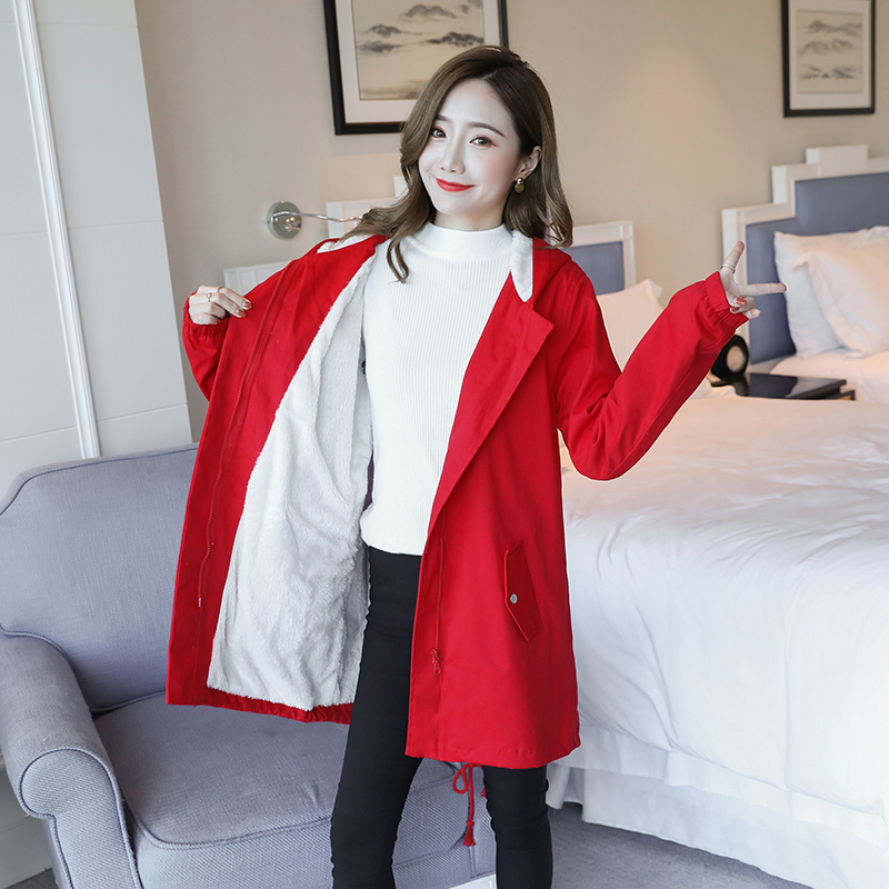 Thicken Velvet Maternity Coats Winter Fashion Jackets Clothes for Pregnant Women Autumn Pregnancy Outwear