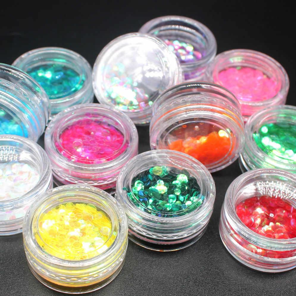 Hỗn hợp Màu Acrylic Bột Bụi TIA UV Thiết Kế Dạng Gel 3D Đầu Trang Trí Làm Móng Tay Móng Nghệ Thuật