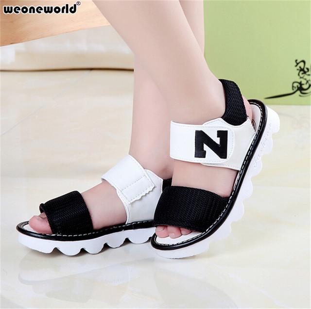 Summer Girls Sandals Princess Fashion Rubber Sole