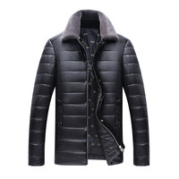 New Listing High Grade Autumn And Winter Men S Leather Jacket Business Casual Jacket Men S