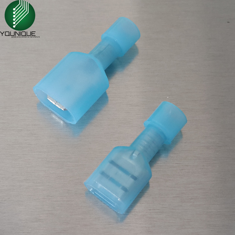 6.3mm Male Female Spade Quick Disconnect Wire Connectors 1/4\