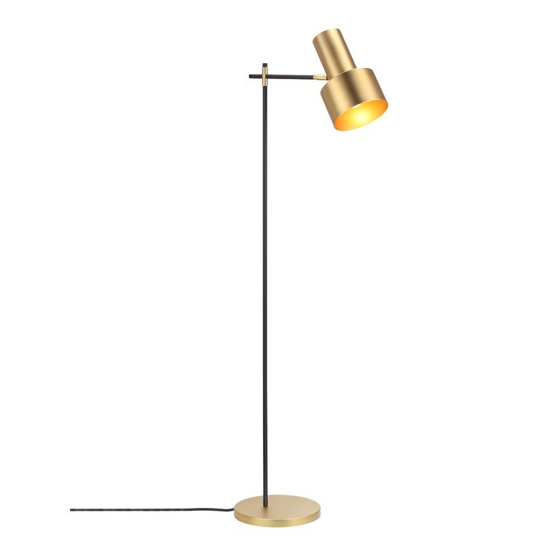 Modern Simple nordic Living room Floor Lamp table light bedroom desk Lamp study Reading Iron art gold lampshade E27 Floor light