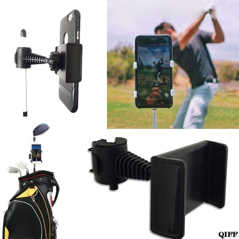 Golf swing felvevő tartó mobiltelefon klip tartó edző gyakorlási - Golf - Fénykép 6