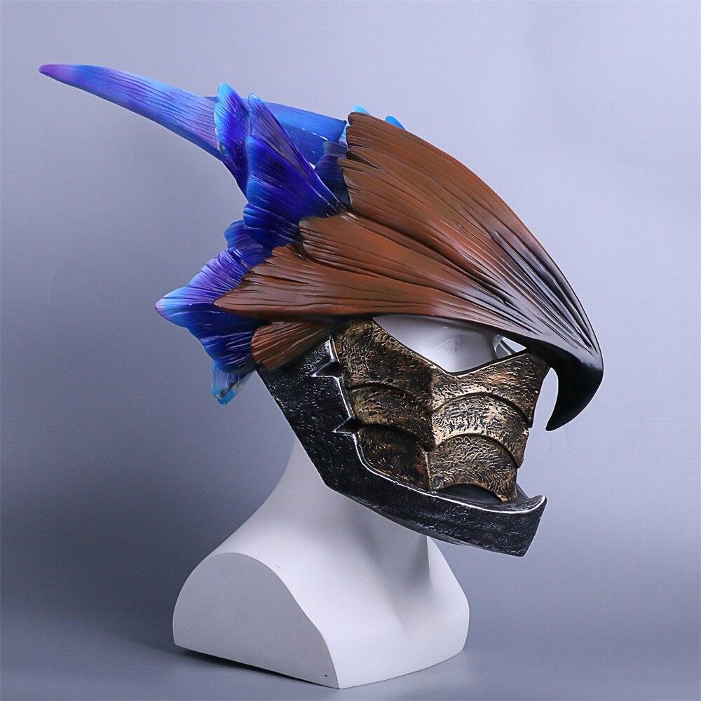 MONSTER HUNTERWORLD Helmet Cosplay legiana helm  Helmets Halloween Masks Props (6)