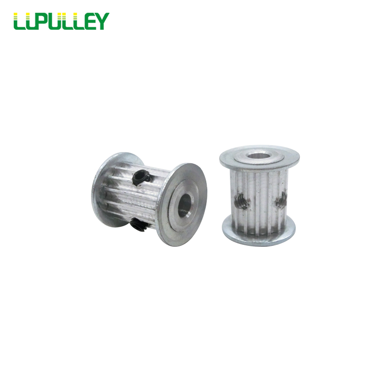 LUPULLEY HTD 3M 15T Timing Pulley 3mm Pitch 16mm Belt Width 4mm/5mm/6mm/6.35mm/8mm Bore Timing Belt Pulley Wheel цена