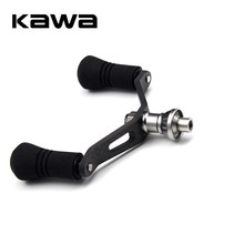 2018 New Fishing Reel Carbon Fiber Double Handles with EVA Knobs Suit for Daiwa Spinning