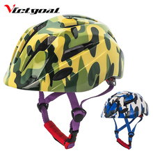 VICTGOAL Cycling Helmet Kids Bicycle LED Backlight Childrens MTB Road Bike Helmets For Boys & Girls