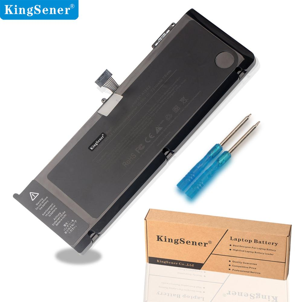 KingSener New A1382 Laptop Battery For Apple MacBook Pro 15