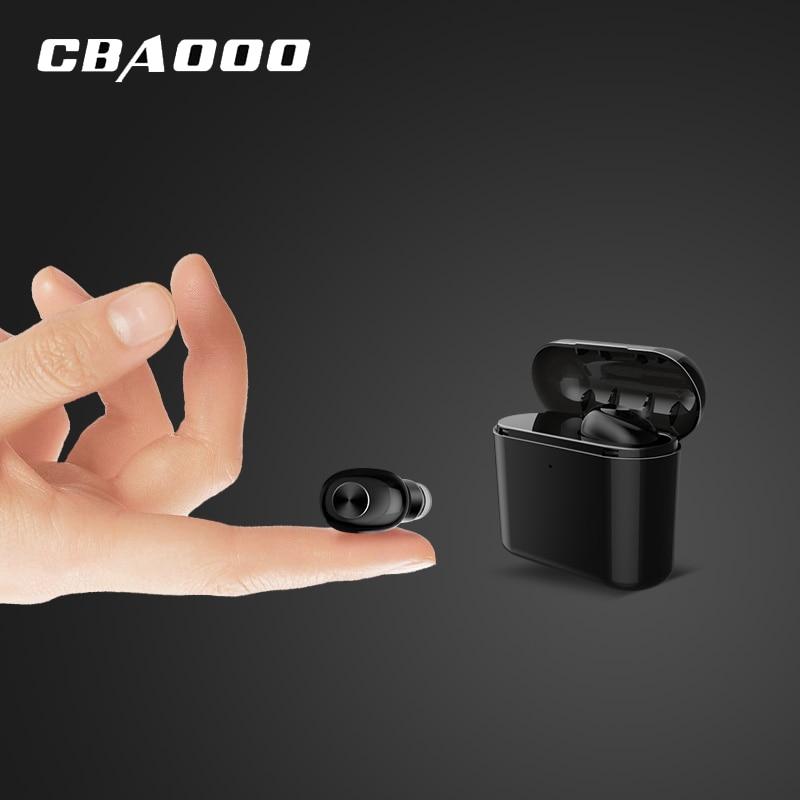 CBAOOO BL1 Mini Wireless Earphone Bluetooth Earbuds With Mic Handsfree Portable Bluetooth