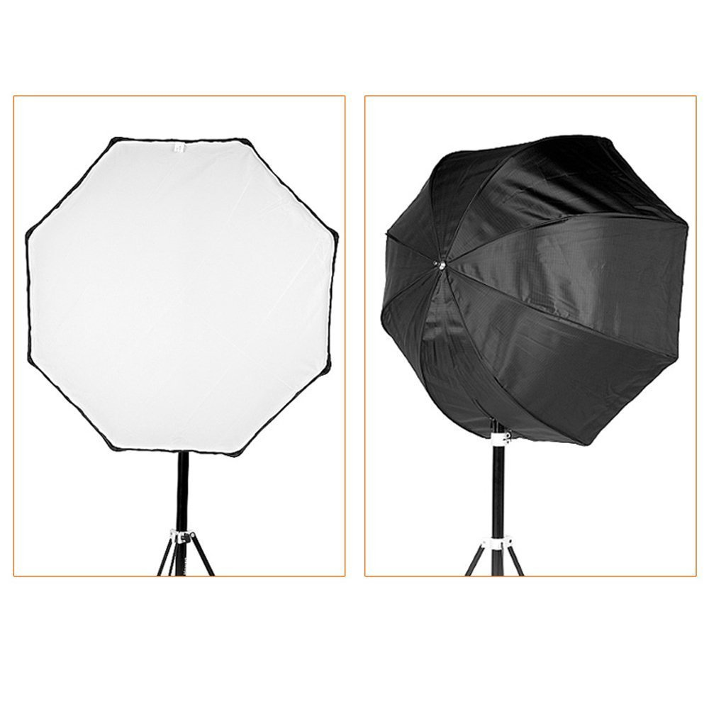 Godox Portable Octagon Softbox 120cm/47.2in Umbrella Brolly Reflector Flash light Softbox for Studio Photo Flash Speedlight