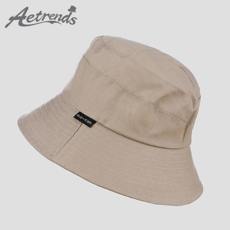 [AETRENDS] 2018 New Hot Sale Cotton Bucket Hats for Women ...
