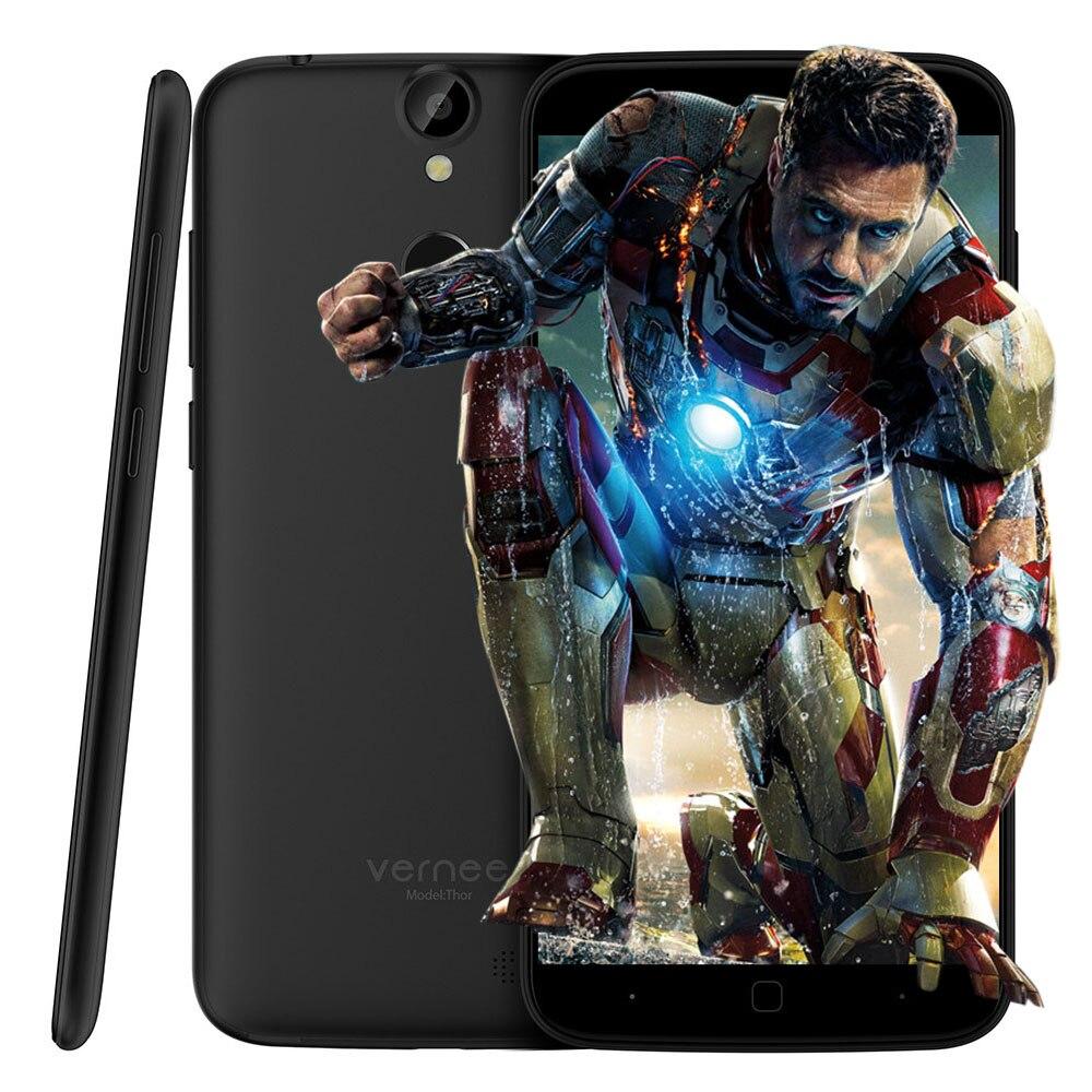 5 0 inch Vernee Thor 4G Smartphone Android 6 0 Octa Core MTK6753 Fingerprint ID 1