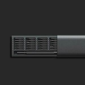 Image 4 - Xiaomi Kit de destornilladores de uso diario, 24 brocas magnéticas de precisión, caja de aluminio, bricolaje, juego de destornilladores para casa inteligente, 2020 originales
