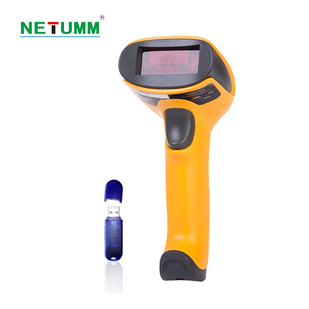 NETUM NT-2028 Wireless Barcode Scanner Laser Bar Code Reader with USB Receiver for POS Mobile and Computer Screen ...
