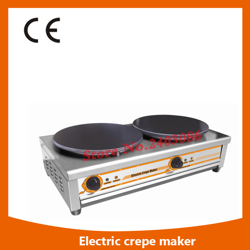 все цены на Ce Approval Commercial double Plate electric Crepe Maker Machine/electric  Crepe Making Machine,electric  Crepe Maker Machine онлайн