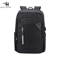 Laptop Backpack Men Large Capacity Bag Waterproof Casual Men S Travel Backpacks School Bag Black