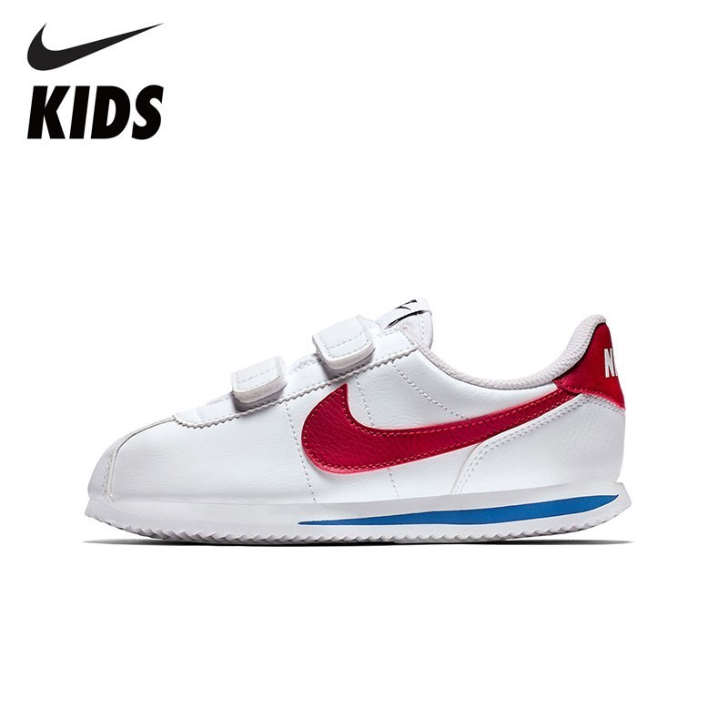 Nike Official Cortez Basic SL Kids Breathable Toddler Non Slippery Comfortable Shoes Sports Running Shoes 904764