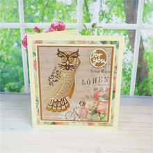 Eastshape Owl Metal Cutting Dies for Scrapbooking Card Making Craft Embossing Die Cut Animal