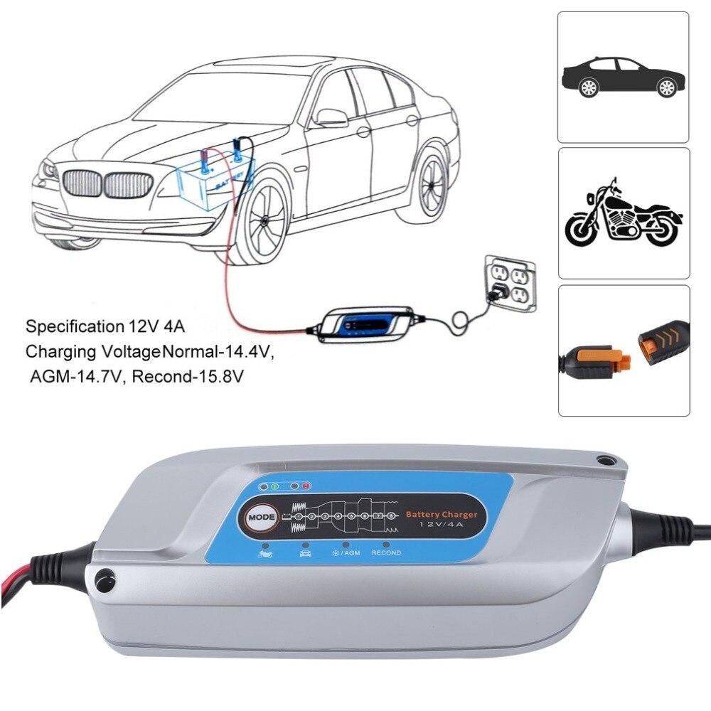 4.0A 12 v Voiture Vélo Batterie Professionnel De Batterie De Voiture Intelligente Électronique Durable Chargeur D'entretien