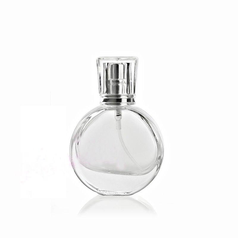 100pcs/lot 20ml Glass Perfume Bottle Perfume Spray Bottle Clear Cosmetic Bottles Empty Parfum Packaging Bottle