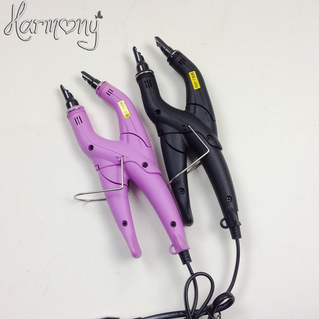 Free shipping!!! (1 piece) Fusion Hair Extension Iron Tool Adjustable Temperature Fusion Heat Connector