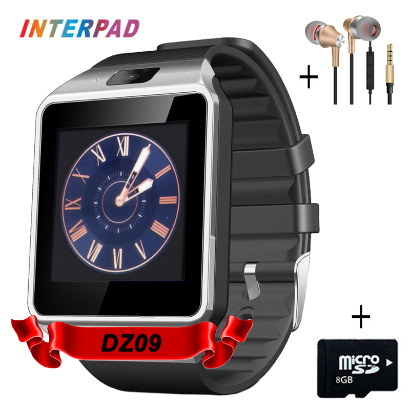 Factory Price DZ09 U8 Smart Watch Digital Sport Wrist Watch Support TF SIM Answer Call With