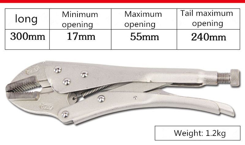 12 tools large force pliers straight mouth cutting pliers. ключ накидной 12 гранный force f 759