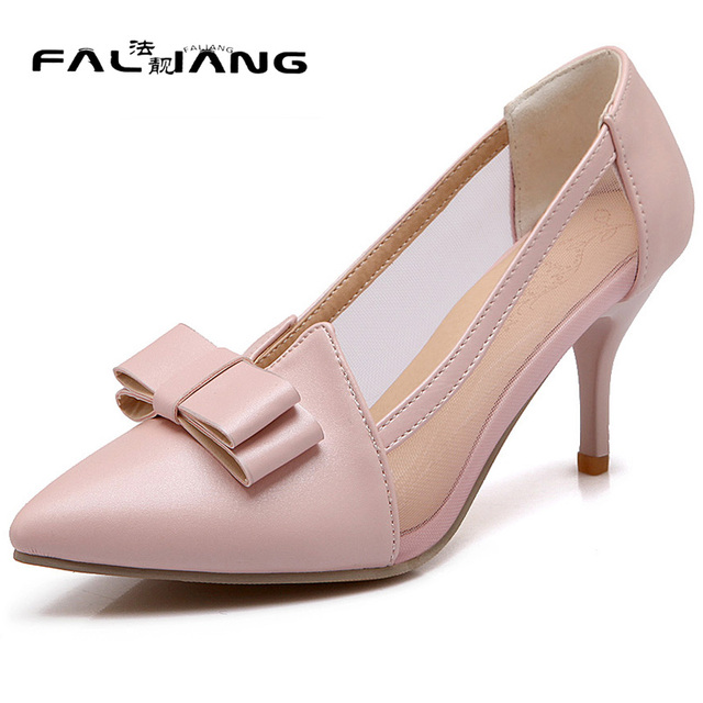 7b6b88013fa496 New arrival Sweet Butterfly-knot Big Size 11 12 women shoes woman ladies  womens Comfort
