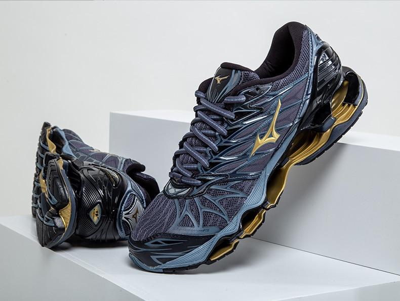 Originale Mizuno Wave Profezia 7 Professionale Degli Uomini di Scarpe Da Ginnastica di Sport Esterno di Sollevamento Pesi Scarpe Tenis Mizuno formato 40-45