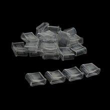 20 шт. свисток для рефери, прозрачный свисток, амортизирующий рот, футбольный свисток, защитный аксессуар для рефери