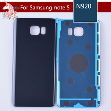 10pcs/lot For Samsung Galaxy Note5 Note 5 N920 N920F Housing Battery Cover Door Rear Chassis Back Case Housing Glass Replacement oem для samsung galaxy note5 sm n920 n920 объем кабель гибкого трубопровода кнопки для samsung galaxy note5 sm n920