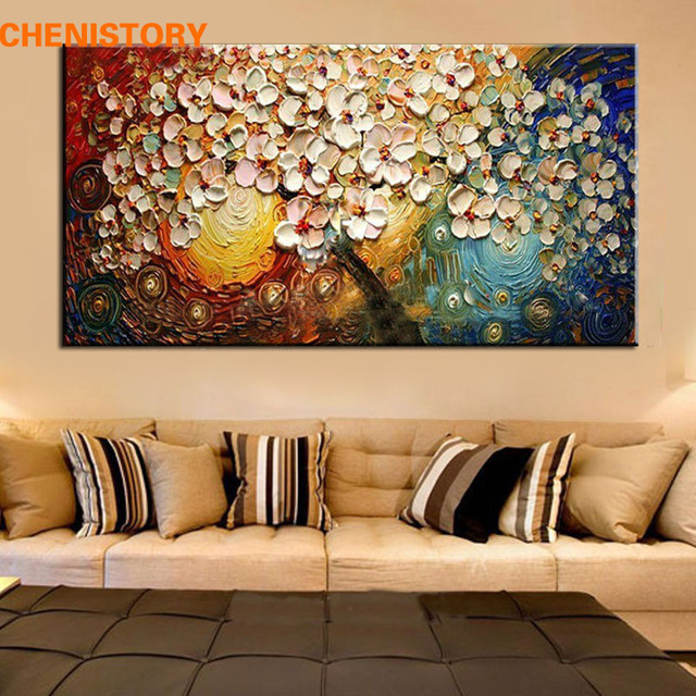 unframed handpainted canvas wall art abstract painting modern