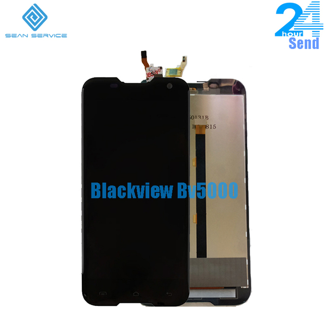 Cho 100% Original Blackview BV5000 LCD Hiển Thị + Màn Hình Cảm Ứng Digitizer Lắp Ráp Thay Thế + Công Cụ 1280X720 5.0 inch trong kho