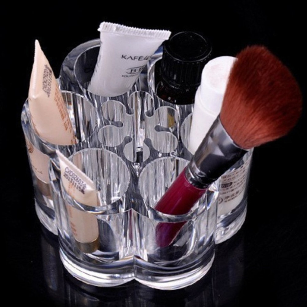 Makeup Cosmetic Organzier Case Clear Acrylic Drawers Jewelry Storage Box Holder Display Acrylic Stand Lipstick Cosmetics