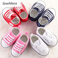 SexeMara  Baby shoe prewalker  High quality shoes  Non-slip lace shoes Baby canvas shoes