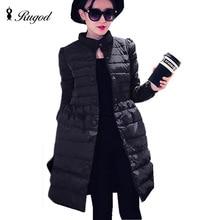 New 2016 winter jacket women loose coat medium long plus size overcoat snowear winter coatmanteau femmeXL XXXL XXXXL