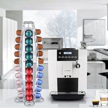 Горячие Продажа 40 Чашки Железа Покрытие Кофе в Капсулах Полки Кухня Длительного Хранения Стеллажи Высокого Качества