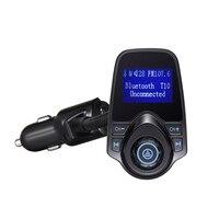 Gakaki Sem Fio Handsfree Bluetooth Car Kit Transmissor Fm Mp3 Player Do Carro USB Carregador Auto Falante Bluetooth AUX Adaptador de Rádio