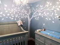 3D wall Decals Trees & Birds DIY Removable Large Falling Tree Wall Stickers for Living Room Kids Baby Room Vinyl Home Decor