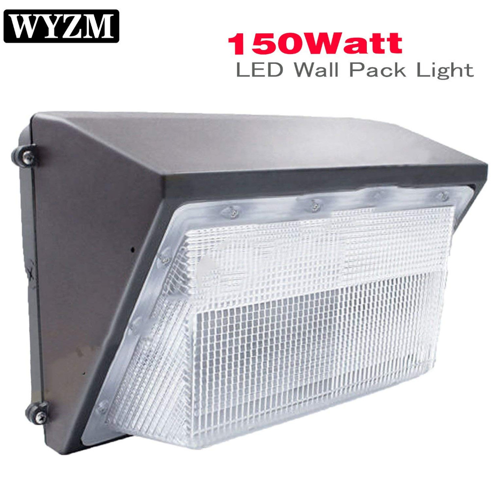 150w Led Wall Pack Light 18000lm And 5500k Super Bright