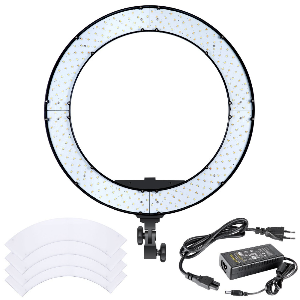 Led Studio Lights Australia: Neewer 18 Inches 55W LED Ring Light Dimmable Bi Color
