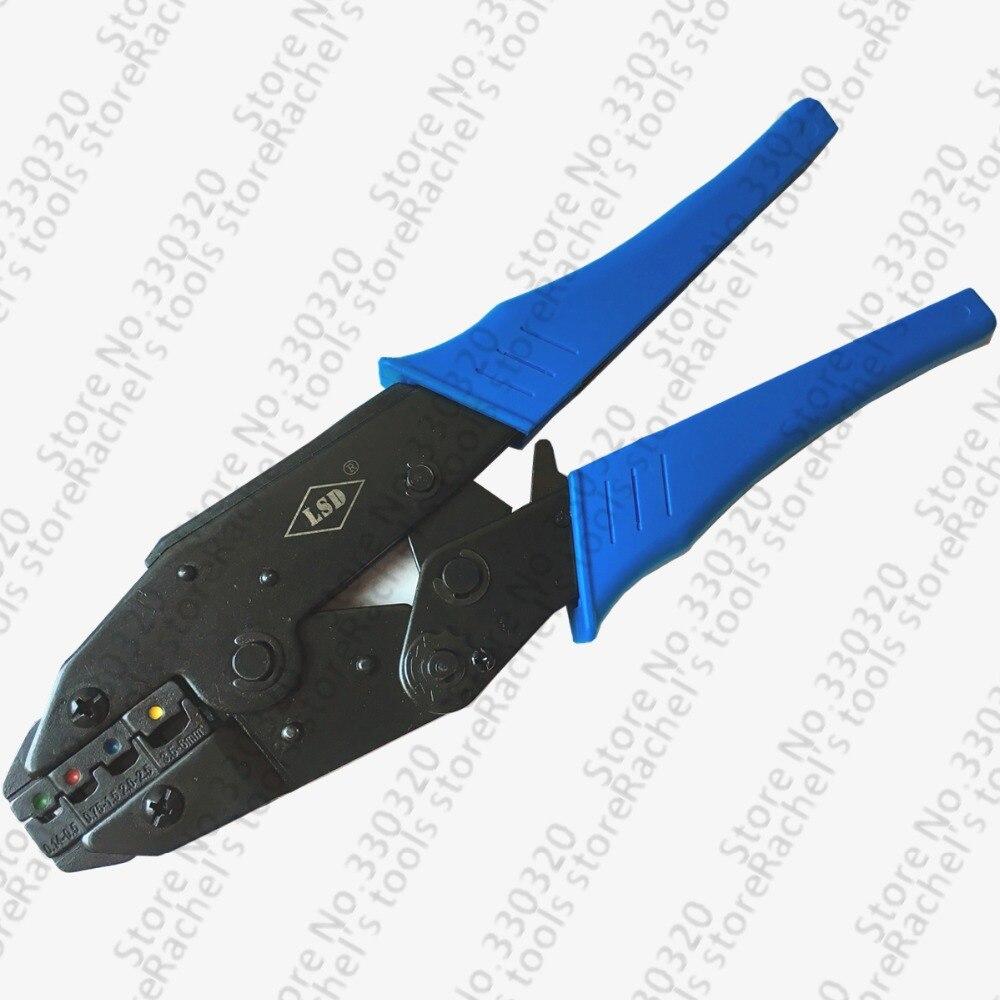 Kreativ Kabelklemmzangen Für Kabel Isolierte Terminals Und Wärme Schrumpfen Butt Draht-anschlüsse Draht Hand Crimpen Werkzeuge Ls-04c Handwerkzeuge