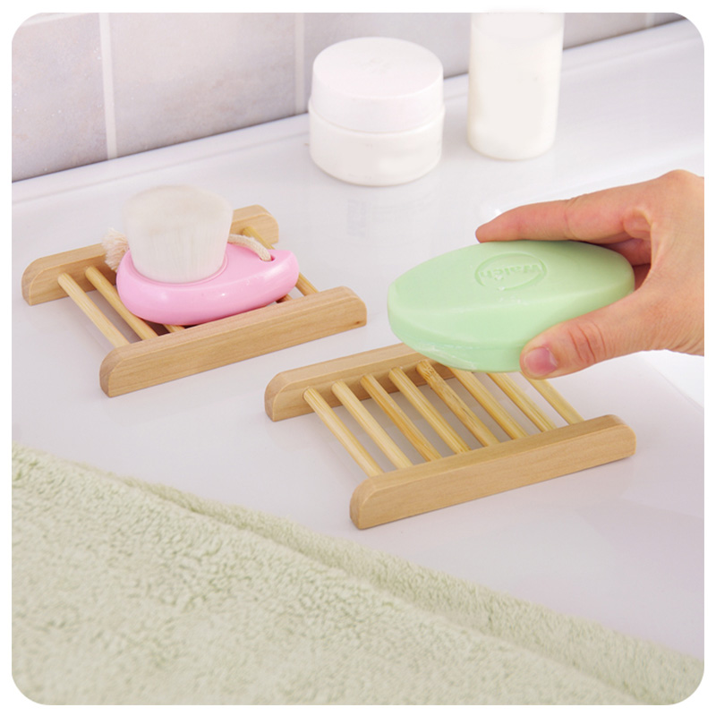 Fashion Kawaii Wall Mounted type Wooden Bath Soap Storage Box Soap bar  Holder Kitchen Tools Sponge. Online Get Cheap Bath Rack Wooden  Aliexpress com   Alibaba Group