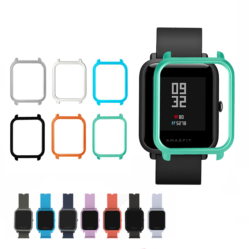 Slim Cover For Xiaomi Amazfit Bip Protector Case  Watch Flim Protector Shell For Xiaomi Huami Amazfit Watch