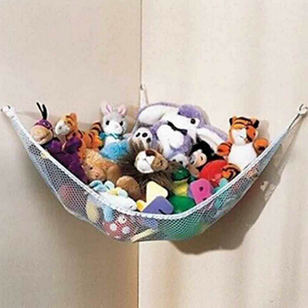 Temperate New Hanging Organizer Kids Toy Storage Net Stuffed Plush Doll Hammock Save Space Handsome Appearance Activity & Gear