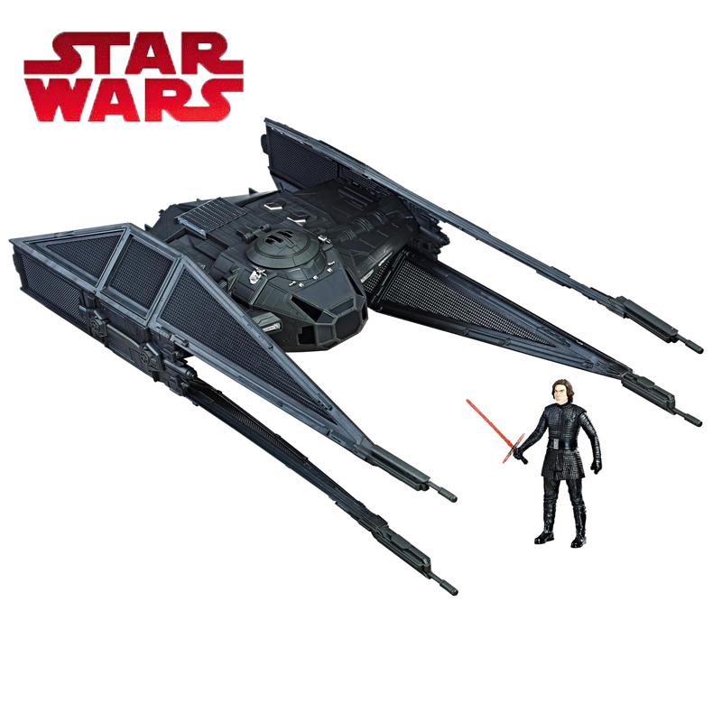 2018 Star Wars Toy Force Link Kylo Ren's Tie Silencer Tie Silencer & Kylo Ren TIE Pilot Figure Kylo Ren Pilote Tie Model Toys saintgi saintgi star wars the force awakens kylo ren action figure pvc 16cm model toys kids gifts collection free shipping