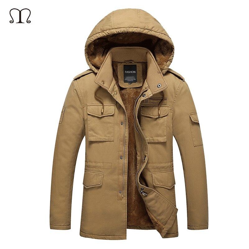 winter jacket font b men b font 2016 new parka coat font b Men s b