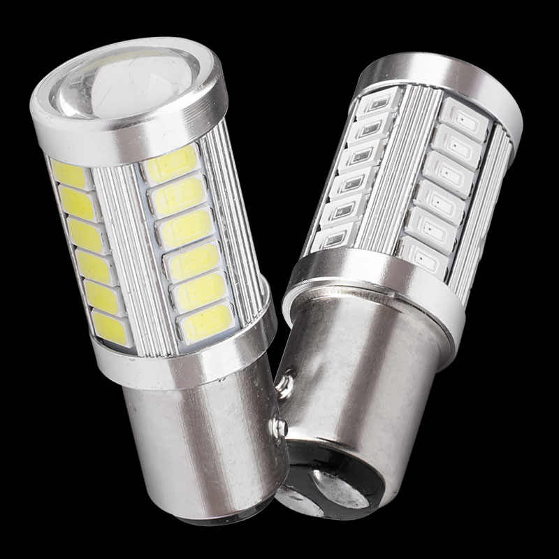 1157 P21/5W BAY15D Super Bright 33 SMD 5630 5730 LED auto brake lights fog lamp 21/5w car daytime running light stop bulbs 12V