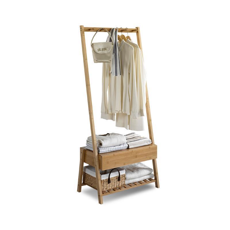 Hanger racks floor coat rack living room mobile drawers modern simple bedroom wooden hangers 2016 new coatrack floor hanger bedroom floor racks non wood special offer fashion simple coatrack