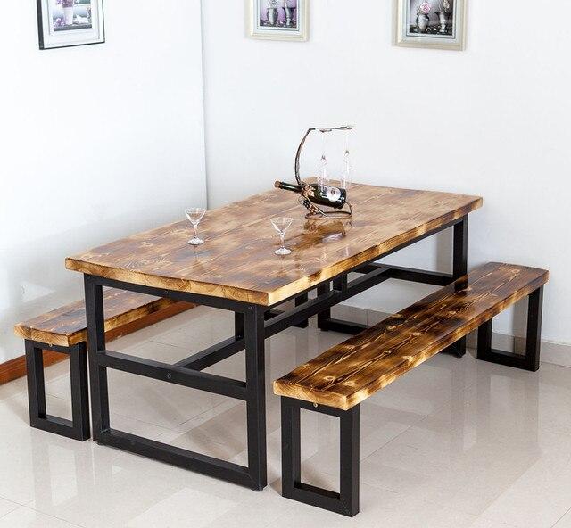 Como hacer una mesa de comedor de tablas de madera casa for Como hacer una mesa de madera para comedor